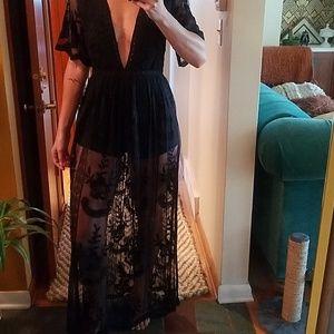 Honey Punch Hermosa Romper dress